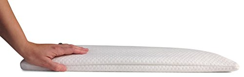 (Home Luxury Living 2.5 Inch Ultra Thin Memory Foam Pillow Sleeper with 2 Pillow Covers)