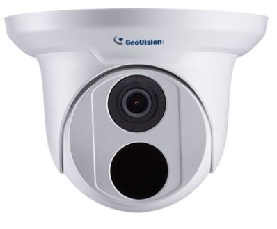 GeoVision GV-EBD2702 Automatic IR-Cut Filter Target Eyeball IP Dome, White