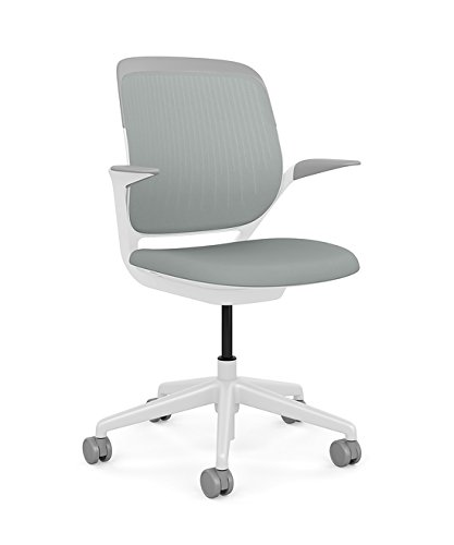Bon Steelcase Cobi Office Chair: Arms With Soft Arm Caps   Standard Carpet  Casters