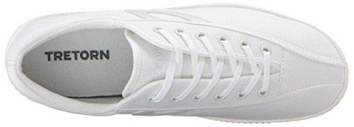 Tretorn Dames Nylite Plus Mode Sneaker Wit / Wit / Wit