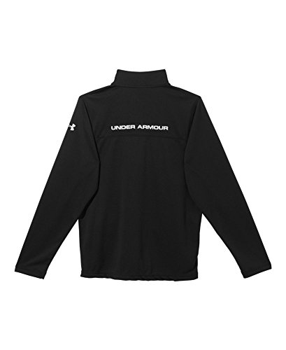 887162737605 - Under Armour Reflex Warm Up Jacket - Men's Black / Red / Red Large carousel main 1
