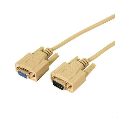 UPC 808447027877, Nine Pin Male to Female RS-232 Null Modem Cable Length: 100'