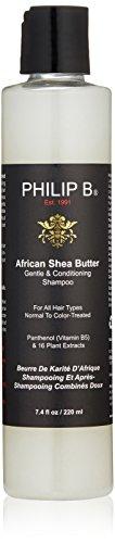 Philip B African Shea Butter Shampoo, 7.4-Ounce (Philip B African Shea Butter)