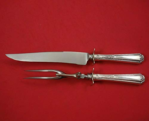 (Louis XIV by Towle Sterling Silver Steak Carving Set 2-Piece HH WS)