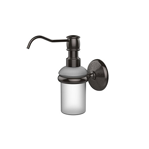 Allied Brass MC-60-ORB Monte Carlo Collection Wall Mounted Soap Dispenser, Oil Rubbed Bronze