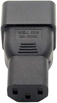 16A A 10A Conversor de Ca Iec 15A A 10A WOVELOT Color Beige Iec 320 C13 A C20 Adaptador de Ca C20 16A A C13 10A Conector Depotencia