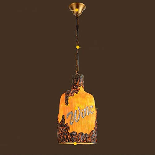 OVIIVO Creative Table Lamp Desk Lamp Chandelier Loft Retro Restaurant Cafe Bar Bowling Resin Sculpture Art Chandelier Using for Reading, Working by OVIIVO (Image #4)