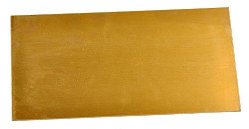Texas Knifemakers Supply 360 Free Machining Brass Sheet - 0.062