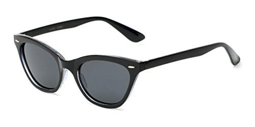 Sunglass Warehouse | The Paris Sunglasses - Cat Eye - Plastic Frame - Men & - Sunglasses Warehouse