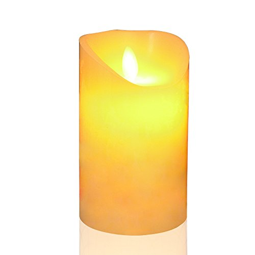 SCWYF Led Candle Light, Flameless Unscented with Remote Control & Timer (2/4/6/8 Hours) 5''