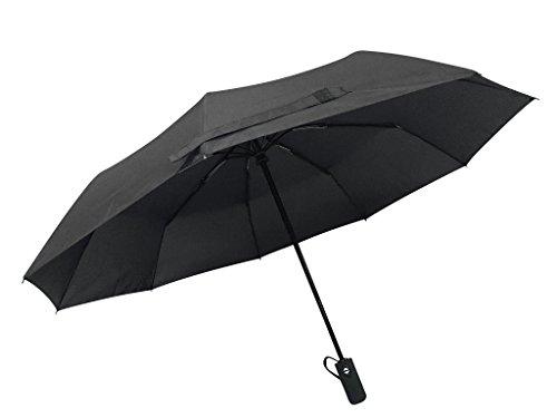 Rain-Mate-Travel-Umbrella-Windproof-Reinforced-Canopy-Ergonomic-Handle-Auto-OpenClose