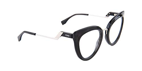 (Fendi FF0334 Black/Clear Lens)