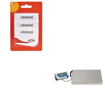 (KITSBWLPS400UNV31803 - Value Kit - Salter Brecknell LPS400 Portable Shipping Scale (SBWLPS400) and Universal Letter Slitter Hand Letter Opener w/Concealed Blade (UNV31803))