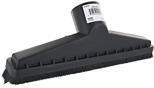 Ridgid VT2514 2.5 Inch Diameter and 14 Inch Wide Floor Brush Accessory for Ridgid Wet and Dry Vacuums ()