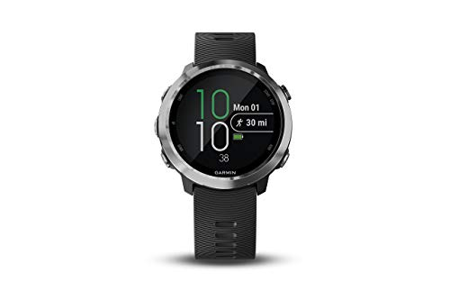 Garmin 010-01863-20 Forerunner 645 Music, GPS Running Watch with Pay Contactless Payments, Wrist-Based Heart Rate and Music, 1.2 inch, Black (Renewed)