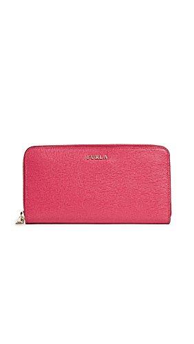 Furla Women's Babylon XL Zip Around Wallet, Ruby, One Size