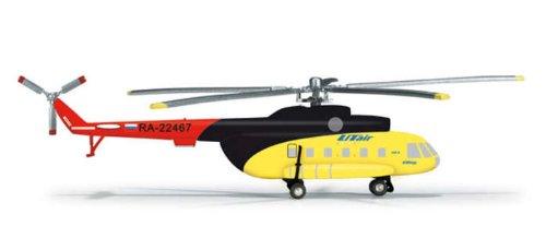 HE555227 Herpa Wings Ut Air MI-8 1:200 Model Helicopter