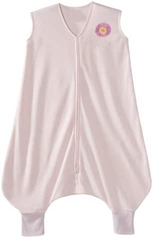 HALO Early Walker SleepSack Lightweight Knit Wearable Blanket, Pink, Medium