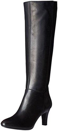 Bandolino Women's Winola Chelsea Boot, Black Leather, 6.5 M ()
