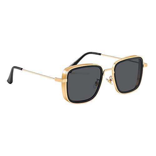 SIMSCO Metal Body Sunglasses Kabir Singh Sunglasses for Men and Women