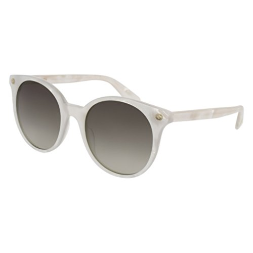 Sunglasses Gucci GG 0091 S- 004 WHITE / - Shades Gucci White