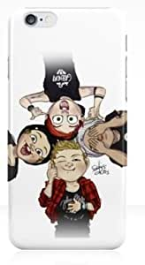 Custom Design - 5 Second of Summer 5 SOS Hard Plastic Case Cover For Iphone 6 (WCA Designed) by ruishername