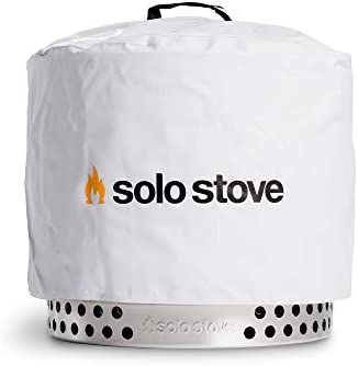 Solo Stove Bonfire Protective Fire Pit Shelter Round Fire Place Waterproof Cover Great