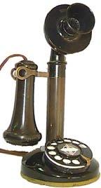 Original Kellogg Dial Candlestick Telephone