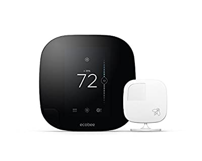 ecobee3 Smarter Wi-Fi Thermostat with Remote Sensor
