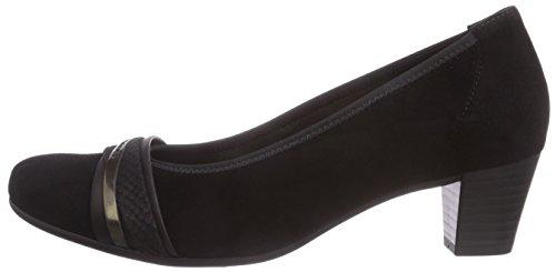 Donna anthrazit Tacco Scarpe schwarz Multicolore Col mehrfarbig Gabor FOqwtgxf