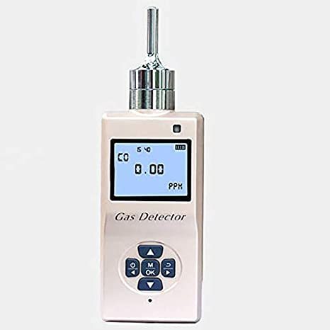 Sensor de Gas Profesional detector de ozono O3 Digital detector de fugas de gas ozono monitor con sistema de alarma de gas Analizador de Calidad del Aire yqaae