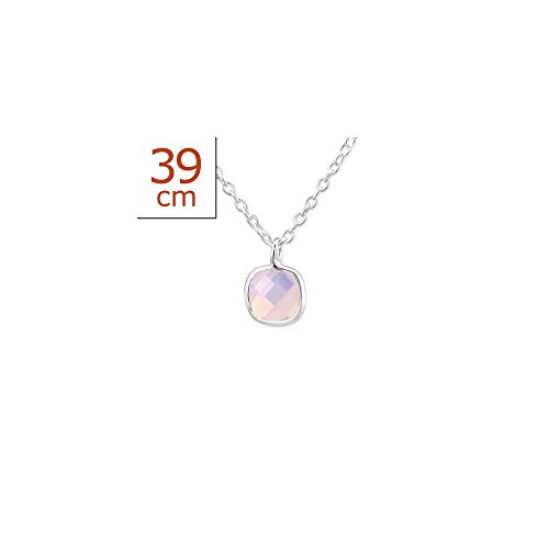 Price comparison product image 925 Sterling Silver Square Necklaces
