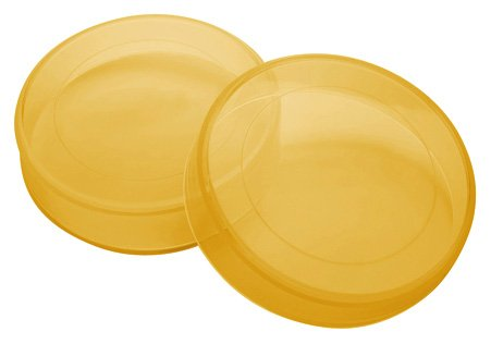 PIAA 76083 Amber Plastic Lens Cover for Cross Country HID Lamp - Pack of 2 ()