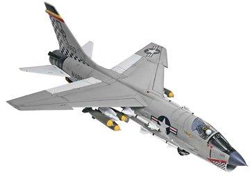 アメリカレベル 1/48 F-8 クルーセイダー 5863 プラモデル