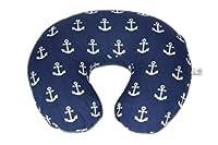 Danha Nursing Pillow Slipcover Navy Anchor