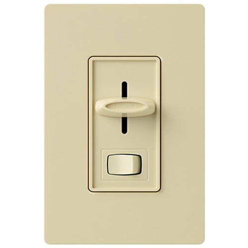 3wy Slide Dimmer - LUTRON ELECTRONICS INC SCL-153PH-IV Skyl SP/3WY Ivory Single Pole/3-Way Dimmer