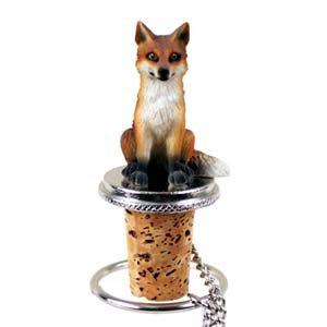 Conversation Concepts Fox Red Bottle Stopper