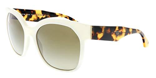 Prada Women's PR 10RS Voice Sunglasses, Ivory (Prada Voice)