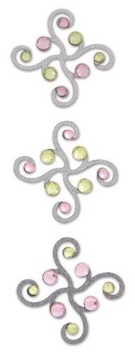 Karen Foster Design, Scrapbooking and Craft Embellishment, Classy Brads, Artistic 02326