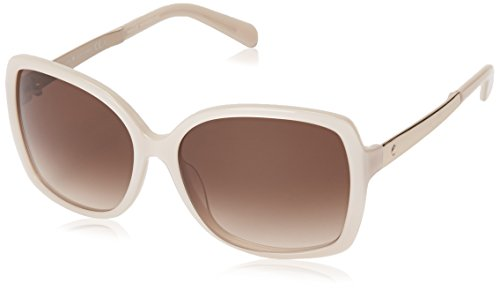Kate Spade Women's Darilynn Square Sunglasses, Beige & Brown Gradient, 58 - Beige Sunglasses