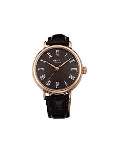 Orient Unisex FER2K001T0 SoMa Analog Display Japanese Automatic Brown Watch