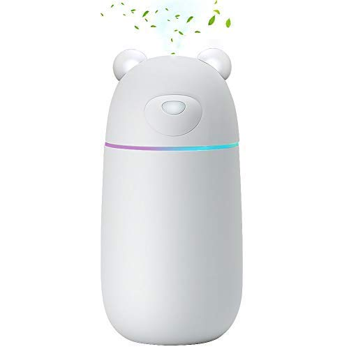 Oblong-HK Ultrasonic Cool Mist Humidifier, car humidifiers air Purifier  Premium Humidifying Unit with Whisper-Quiet Operation, Auto Shut-Off and  USB