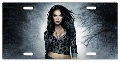 CS-license plate Custom Jennifer's Body Megan Fox Metal License Plate 6
