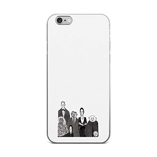iPhone 6 Plus/iPhone 6s Plus Case Clear Anti-Scratch The Addams Family, Addams Family Cover Phone Cases for iPhone 6 Plus iPhone 6s Plus ()