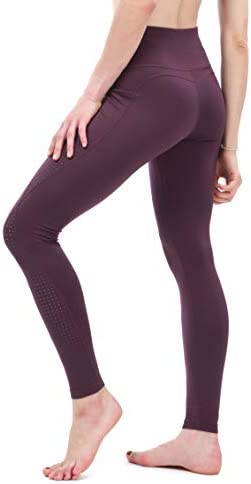 Sweatish Workout Running Leggings for Women with Pockets High Waist Yoga Training Fitness Tights