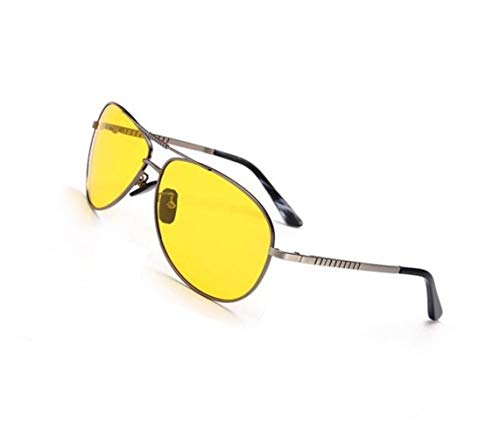 UV400 lunettes conduite soleil soleil lunettes Huyizhi lunettes de voyager courir Cool de protection de Jaune Polarized Yellow vision nocturne mode de unisexe lunettes 0Sxqw6OqI