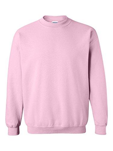 Gildan Men's Heavy Blend Crewneck Sweatshirt - Medium - Light Pink (Womens Sweatshirt Pink)
