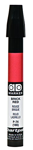 - The Original Chartpak AD Marker, Tri-Nib, Brick Red, 1 Each (P74)