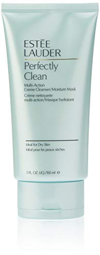Estee Lauder | Perfectly Clean  | Multi-Action Crème Cleanser/Moisture Mask | Conditions  | Nourishes | Dermatologist and Ophthalmologist Tested | 5 ()