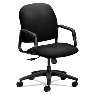 Solutions Seating 4000 Series Executive High-Back Chair, Bla